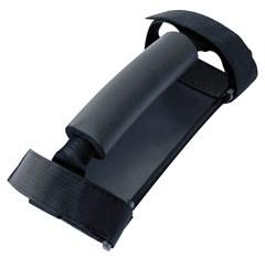 Deluxe Sport Handles with Comfort Grip, Black, Universal