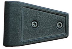 Door Hinge Covers, JK Wrangler (2007-2014) 2-Door, Textured Black