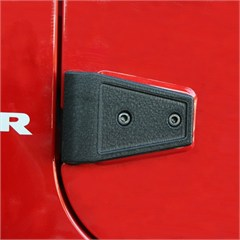 Door Hinge Covers, JK Wrangler (2007-2014) 4-Door, Textured Black
