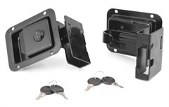 Door Latch Set-Rugged Ridge Half/Tube Doors for Jeep Wrangler JK