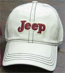 Jeep Contrast Stitch Embroidered Baseball Hat