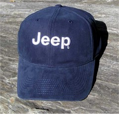 Jeep Navy Blue Flexifit Baseball Hat