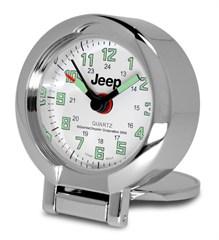 """Etched Jeep"" Pocket Travel Alarm Clock"