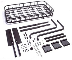 Easy Load Trail Rack for Jeep Wrangler YJ (1987-1995) and TJ (1997-2002)