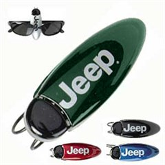 Visor Clip with Jeep logo