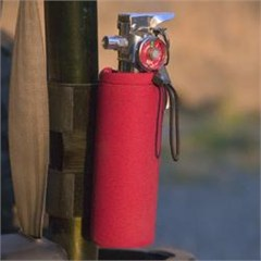 Neoprene Fire Extinguisher Holder / Water Bottle Holder
