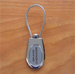 Chrome FOB Jeep Grand Cherokee Keychain