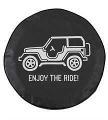 Enjoy the Ride Jeep Tire Cover