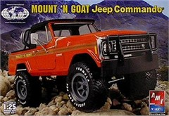 Mount 'N Goat Jeepster Commando Plastic Model Kit