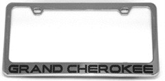 Grand Cherokee License Plate Frame