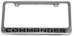 Commander License Plate Frame