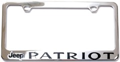License Plate Frame, Jeep Patriot, Logo