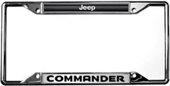 Jeep Commander License Plate Frame