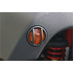 Side Marker Euro Guards for Jeep Wrangler JK (2007-2014) - Black