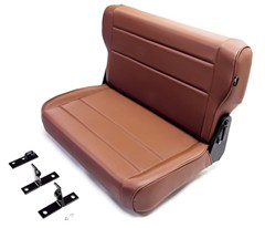 Fold & Tumble Rear Seat in Spice for Jeep CJ and YJ