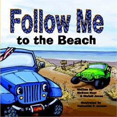 """Follow Me to the Beach"" Kid's Jeep Book"