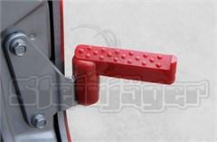 Foot Pegs for Jeep Wrangler JK 2Door/4Door 2007-2017 Red Steinjager
