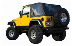 Frameless Soft Top w/Tint Windows TJ 1997-2006