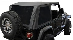 Frameless Sailcloth Soft Top w/Tint Windows TJ 1997-2006