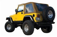 Frameless Soft Top w/Tint Windows TJ 1997-2006 Spice