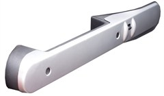 Front Door Handle Grab Trim, Jeep Wrangler JK (2007-2010)-Silver
