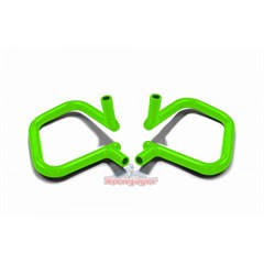 Front Rigid Grab Handle for Wrangler 2007-2017 in Neon Green by Steinjager