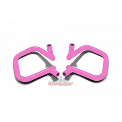 Front Rigid Grab Handle for Wrangler 2007-2017 in Pink by Steinjager