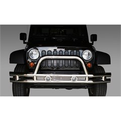 Stainless Steel Front Tube Bumper for Jeep Wrangler JK (2007-2014)