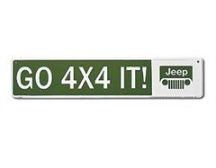Go 4x4 It :Jeep Street Sign