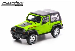 Collectible Jeep Wrangler Rubicon Mountain Edition in Green 1:43