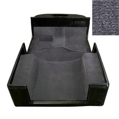 Deluxe Gray Carpet Kit for Jeep Wrangler TJ (1997-2006)