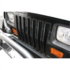 Black Trim Grille Inserts for Jeep Wrangler YJ (1987-1995)