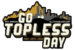 Go Topless Day 2013 Vinyl Decal
