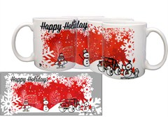 """Happy Holidays"" Exclusive Ceramic Mug"