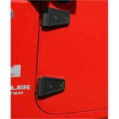 Door Hinge Cover Set Wrangler JK 2007-2017 Textured Black