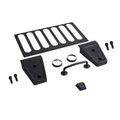 Textured Black Hood Dress Up Kit for Jeep Wrangler JK (2007-2012)