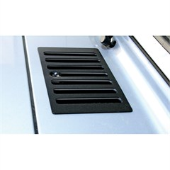 HOOD VENT COVER, 98-06 JEEP WRANGLER, BLACK
