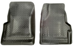 Husky Front Floor Liners for Jeep CJ-7 & Wrangler YJ (1986-1995)