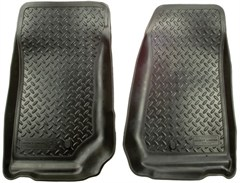 Husky Liners,Front Floor Liners for Jeep 07-13 Wrangler 2 door & Wrangler Unlimited 4 door JK