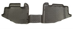 Husky Rear Floor Liners for Jeep Wrangler YJ (1991-1995) - Black