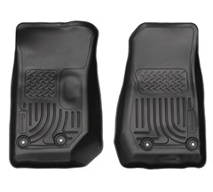 Husky Front Floor Liners for Jeep 2 & 4 door 2014 Wrangler, Unlimited JK