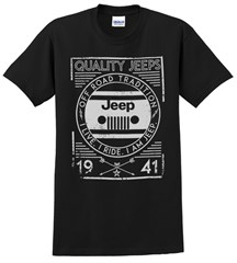 I Am Jeep Men's T-Shirt in Black