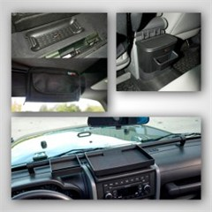 4 Piece Interior Storage Kit-2/4 Door Jeep Wrangler JK 2007-2010