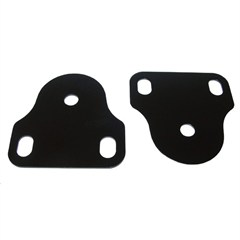 Interior Windshield Brackets, 1976-1986 (CJ), Black