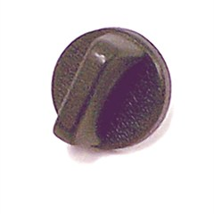 Interior Windshield Knob, 1976-1986, Black