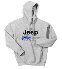 It's a Jeep Thing Hooded Sweatshirt in Sport Gray