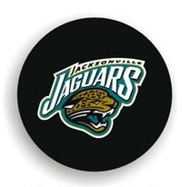 Jacksonville Jaguars NFL Tire Cover - Black Vinyl