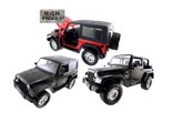2007 Jeep Wrangler JK 2 Door Diecast Model