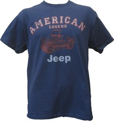 Jeep American Legend T-Shirt - Blue - (Small Only)