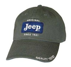 Jeep Cap - Original Patch Hat - Sage